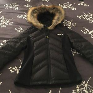 New Bebe down slim jacket- Size Small